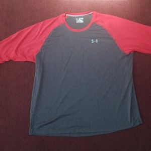 NWOT Under Armour Loose Baseball Tee